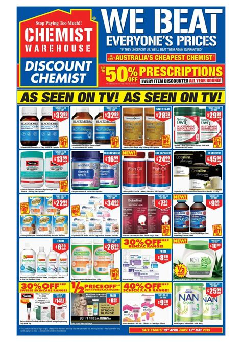 Chemist Warehouse Catalogue 19 Apr - 12 May 2019 (Page 3)