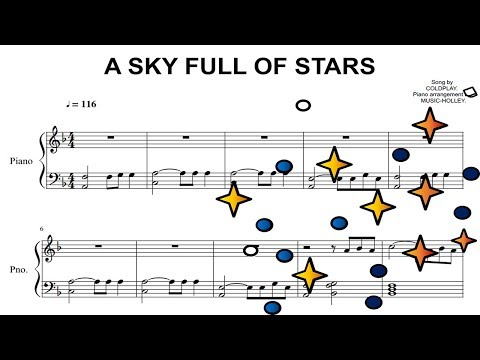 Coldplay Fly On Piano Sheet Music - Music Sheet Collection