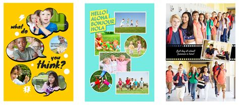 The Widest Range of Free Yearbook Layouts - Fusion Yearbooks