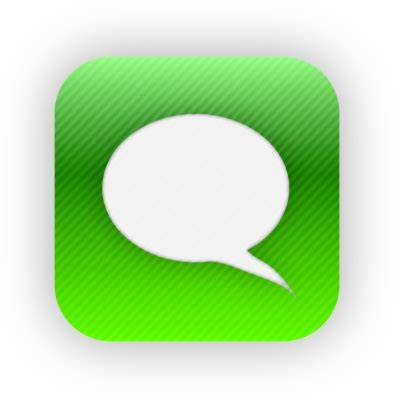 Iphone Message Icon Png at Vectorified