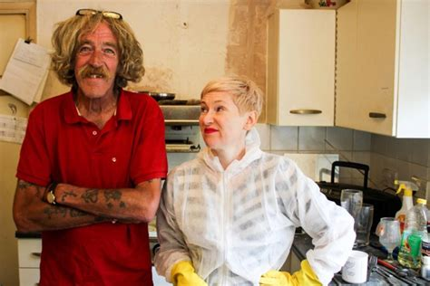 Obsessive Compulsive Cleaners: Claire spends 22 hours a