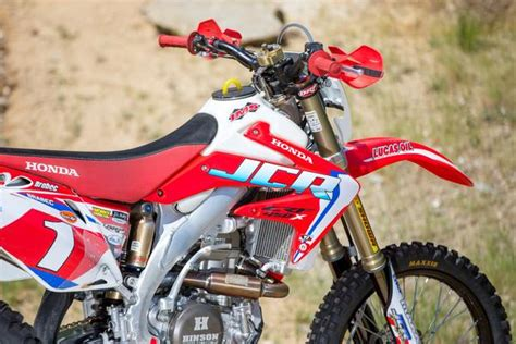 JCR Honda Factory Graphic Kit with number plate