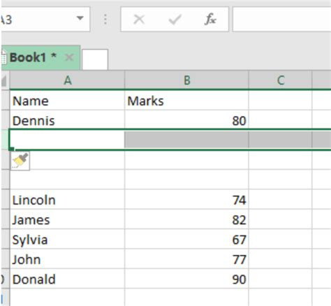 Excel Shortcut: Redo last action with shorcut keys in