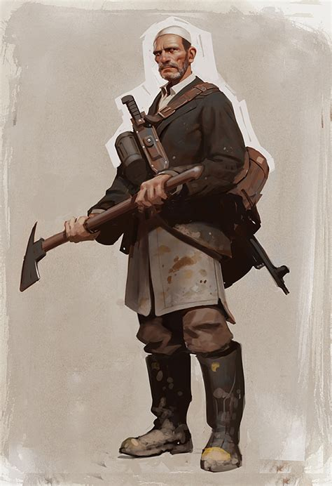 Character Design & Concept Art by Moby Francke | Daily