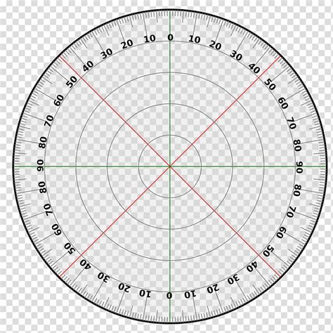 Protractor Circle Degree Template Turn, 360 Degrees