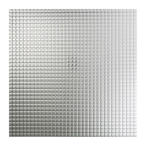 Fasade Fasade Square 2ft x 2ft Vinyl Lay In Ceiling Tile