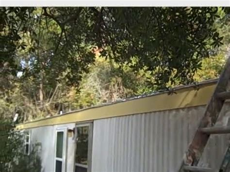 Mobile Home Gutters and how to repair them