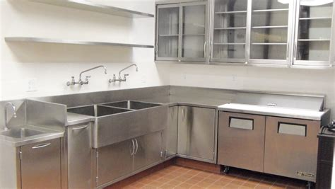 Cold Pantry with Floating Shelves, Farm Sink, Salvaged