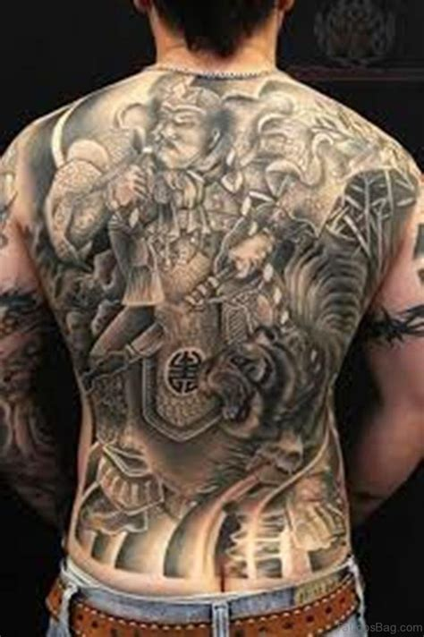 21 Incredible Horror Tattoos On Back