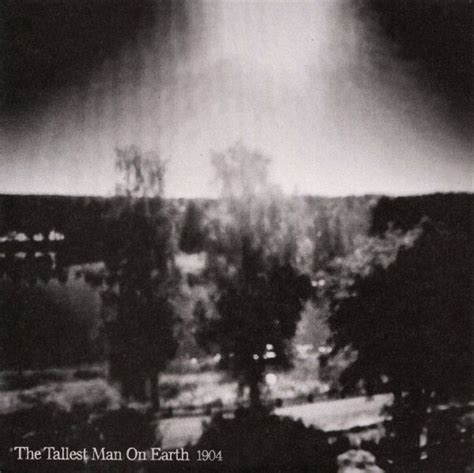 """The Tallest Man On Earth 1904 7"""" Vinyl Record non theres"""
