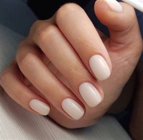Nothing beats a clean bright manicure on short nails Nails