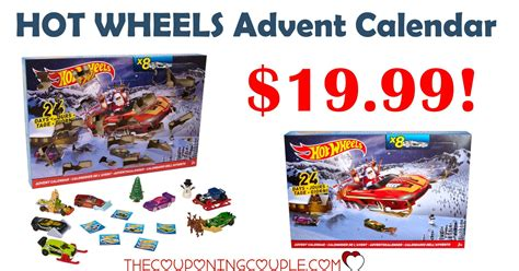 In Stock! Hot Wheels Advent Calendar- Only $19