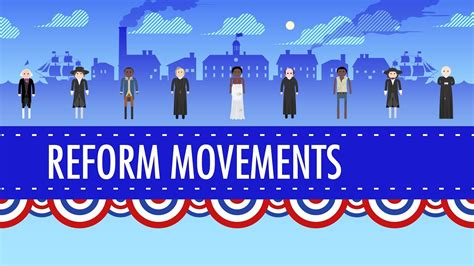 19th Century Reforms: Crash Course US History #15 - YouTube