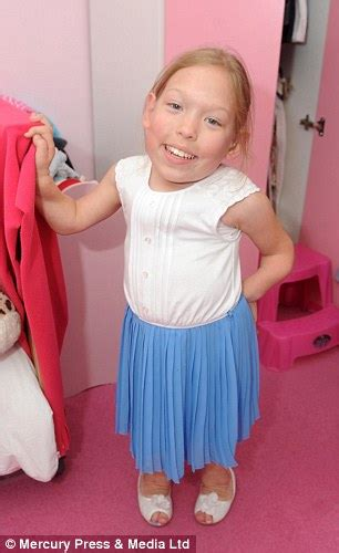 Girl, 10, is just 97cm tall due to rare Morquio disease