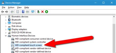 How to Enable or Disable Your Computer's Touch Screen in