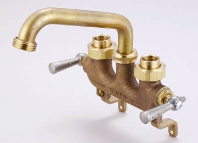 Central Brass 0470 Laundry Faucet w/Offset Legs For Wall