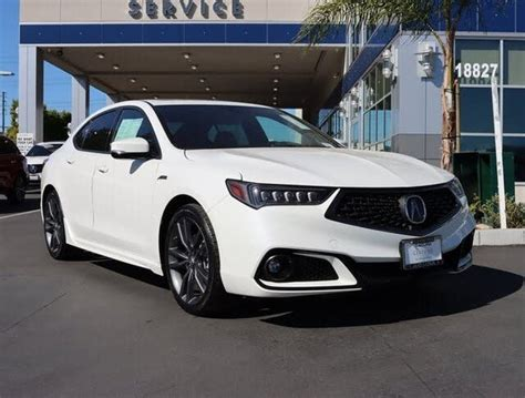Certified 2018 Acura TLX V6 FWD with Technology and A-Spec