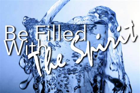 """""""Drink from the WELL of the Energy of God's Spirit-the"""