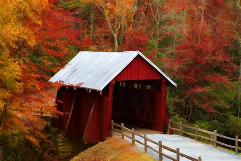 Campbell's Covered Bridge | Greenville County Parks