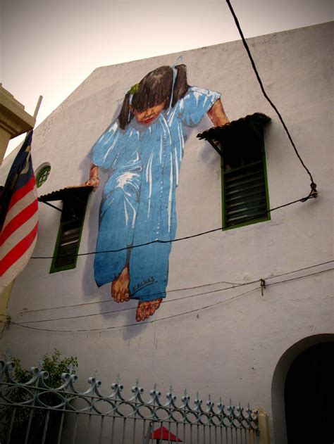 Interactive Paintings on the Streets of Malaysia | Colossal