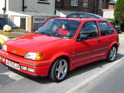 Red j reg Fiesta RS Turbo pics added : Cars For Sale