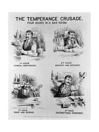 'Cartoon of the Temperance Crusade: Four Hours in a Bar
