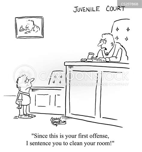 Juvenile Courts Cartoons and Comics - funny pictures from