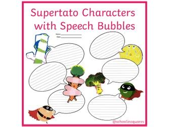 Pig in the Pond Speech Bubbles | Teaching Resources