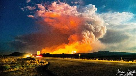 Homes destroyed in 50,000-acre fire burning in southern