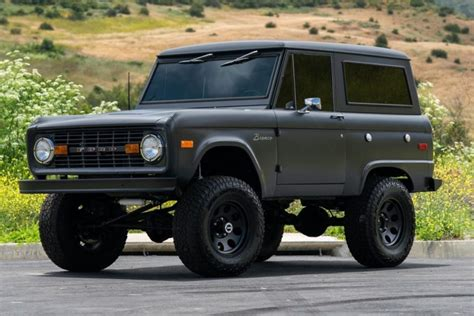 No Reserve: Modified 1975 Ford Bronco for sale on BaT