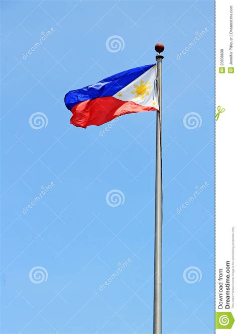 philippine flag hanging in a flag pole clipart 20 free