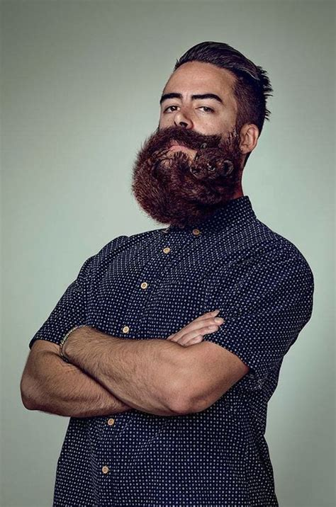 Pictured: Amazing animal beards created by razor-maker