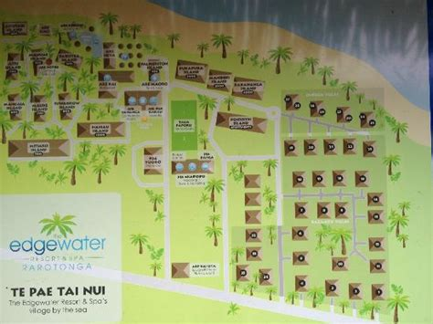 Edgewater Map and Layout - Picture of The Edgewater Resort