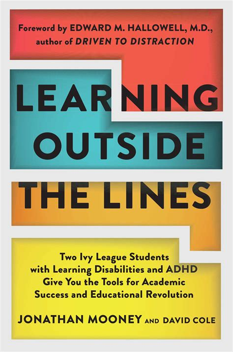 Learning Outside The Lines | Book by Jonathan Mooney, Dave