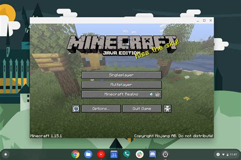 How you can set up Minecraft Java Version on a Chromebook