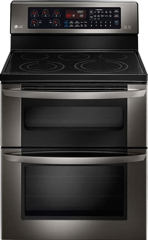 LG LDE3037BD 30 Inch Freestanding Electric Double-Oven