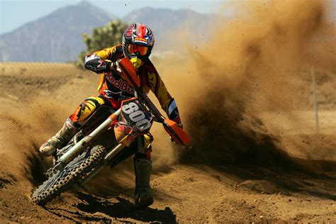Dirt Bike Ripping It Up Facebook Timeline Cover