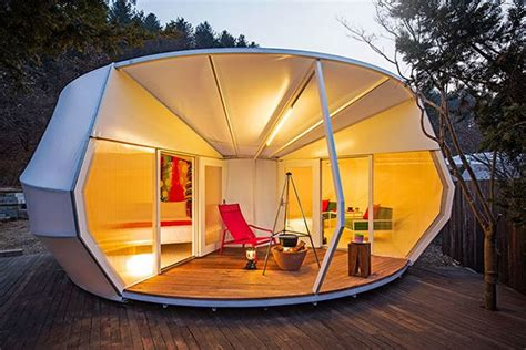 Luxurious Tent Pods : Glamping Tent