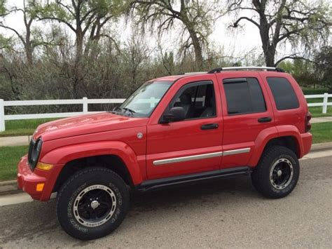 2005 Jeep Liberty CRD Limited 4x4 Suspension Lifted Turbo