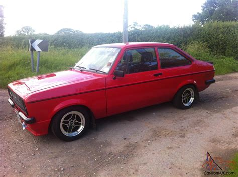 Ford Escort RS2000 Mk2 mexico flat front restored very