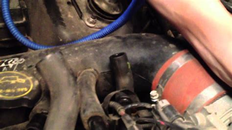 How To Find Car Engine Vacuum Leaks with A Hookah / Water