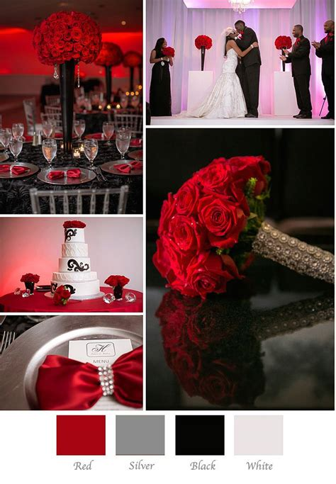 How to Choose Your Wedding Colors | Red wedding theme, Red