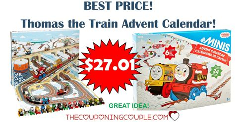 BEST PRICE! Thomas the Train Advent Calendar - Only $27