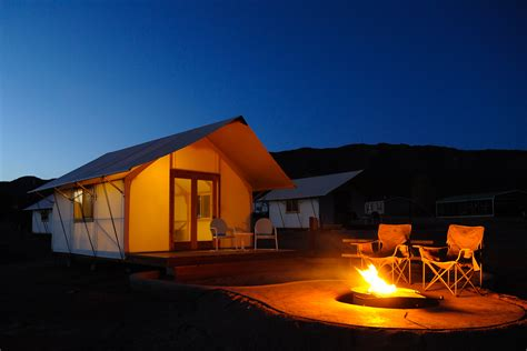 Glamping Tent Cabins in Royal Gorge, Colorado