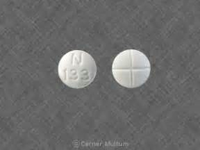N 133 Pill Images (White / Round)