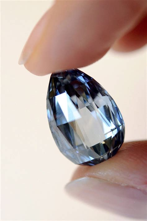 Blue diamond sets world record, sells for almost $11 million