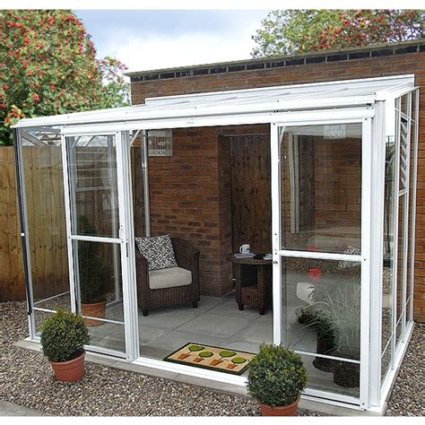 Robinsons Radstock Lean-To Greenhouse