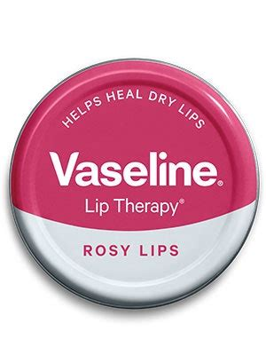 Vaseline Lip Therapy in Rosy Lips Review   Allure