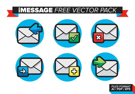 IMessage Free Vector Pack - Download Free Vectors, Clipart