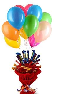 Same day delivery of helium balloons to India, LED Glowing